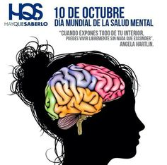 10 de Octubre Día Mundial de la Salud Mental.