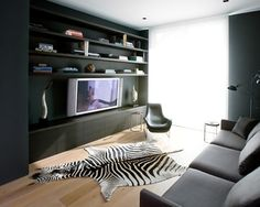 Pacific Heights Residence - modern - media room - Nicole Hollis