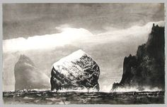 St Kilda in Sunlight - Norman Ackroyd, etching Norman Ackroyd, Wildlife Art, Art Festival, Light In The Dark, Dark Art, Contemporary Art, Illustration Art, Illustrations, Drawings