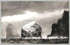 St Kilda in Sunlight - Norman Ackroyd