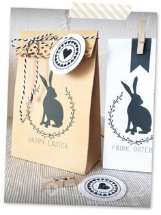 DIY – Fast Easter gift bag from an envelope - Easter Day Easter Gift For Adults, Easter Gift Bags, Happy Easter, Gifts For Coworkers, Gifts For Teens, Diy Sac Cadeau, Diy Gifts For Christmas, Diy Easter Gifts For Friends, Christmas Greetings