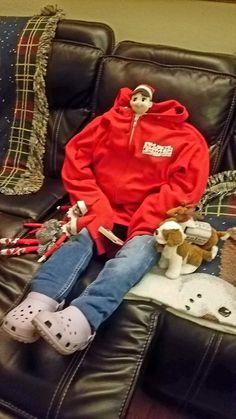 But with new Christmas pajamas Christmas Elf, Christmas And New Year, Christmas Pajamas, Bad Elf, Awesome Elf On The Shelf Ideas, Elf On The Self, Naughty Elf, Buddy The Elf, Christmas Traditions