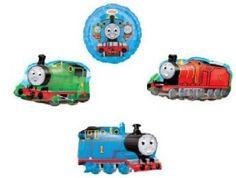 Amazon.com: Thomas the Tank Happy Birthday 13 Piece Balloon Set: Toys & Games