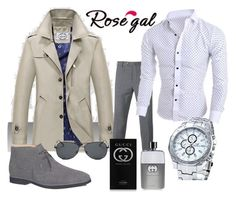 """""""***"""" by mercija ❤ liked on Polyvore featuring PT01 Pantaloni Torino, Tod's, Gucci, men's fashion and menswear"""