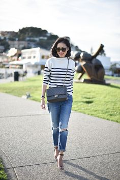 My tendency to buy stripes doesn't end with me – Lucia has amassed an equally impressive amount (striped...