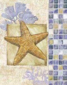 CUADROSTOCK.COM - Cuadro Mosaic Shell Collage II / PB