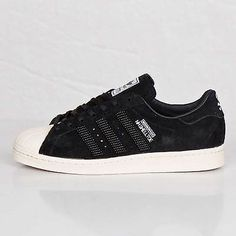 Adidas NH Neighborhood Shelltoe Mens M25785 Black White Shoes Sneakers Size 9.5