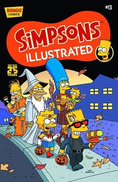 Simpsons Illustrated #13 (homer as garfield. nailed it)