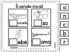 SONIDO INICIAL {BEGINNING SOUNDS IN SPANISH} - TeachersPayTeachers.com