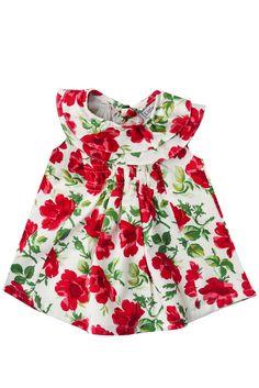 Little Babushka - Rose petal printed dress