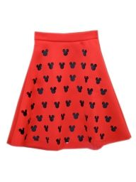 Mickey Cut Out A-line Midi Skirt wwww.choices.com?cid=6309michelle