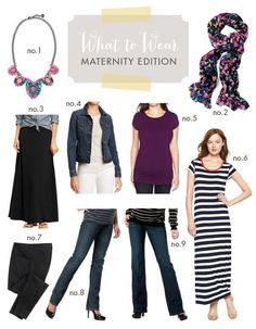 what to wear maternity