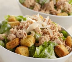 Chicken of the Seas Salmon Caesar Salad Recipe