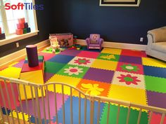 Baby Playroom Ideas playroom ideas: softtiles safari animals make your child's