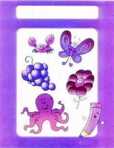 Τα χρώματα Games For Kids, Diy For Kids, Activities For Kids, Crafts For Kids, Back To School Party, School Parties, Math 4 Kids, Purple Books, Preschool Colors