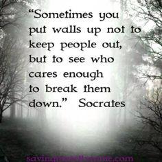 Walls...