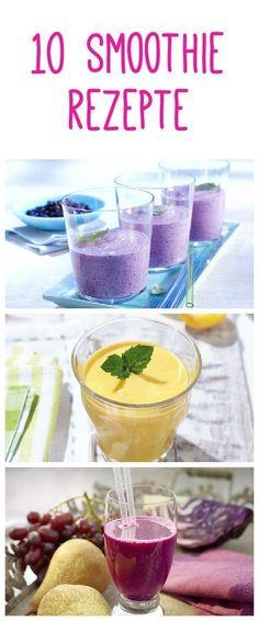 10 köstliche Smoothies nicht nur im #Frühling #Rezept