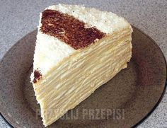 Ciasto Marcinek Polish Recipes, Polish Food, Bon Appetit, Vanilla Cake, Sweet Tooth, Bakery, Sweet Treats, Cheesecake, Food And Drink