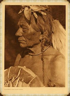 "Makoyepuk (""Wolf-child"") - Blood - Edward S. Curtis's The North American Indian: Photographic Images"