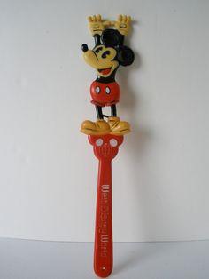 Vintage Mickey Mouse Back Scratcher on Etsy, £7.85