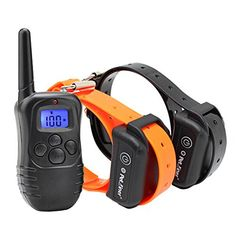 Petrainer #Pet #Dog #Training 330 Yards Remote 4 in 1 E-collar Rechargeable and Fully Waterproof. This item has been proven safe, comfortable, and effective for all pets over 15 lbs. It assists you in controlling your pet without a leash in a range up to 330 Yards.