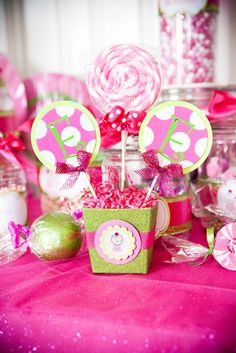 pink and green love,wrap xmas ornament in cellophane like candy