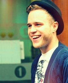 Olly Murs. Oh my goodness...sorry I couldn't resist that pun.