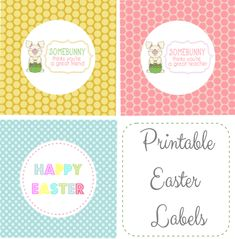 Free Easter Printables at thegirlcreative.com #printables #easter