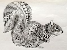 https://flic.kr/p/mCiW1Q | Ben Kwok - Ornation Creation on FB | Squirrel template 006
