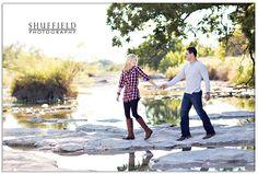 Brenna & Mason's Fall Camping Engagement Session