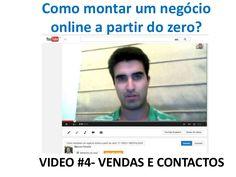 Como montar um negócio  online a partir do zero?  Marcos Ferreira  VIDEO #4- VENDAS E CONTACTOS   Saber mais: http://marcos-ferreira.com/c/aoportunidade&ad=pinterest