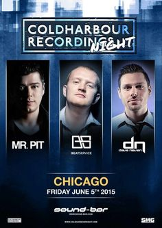 ColdHarbour Night at Sound-Bar Chicago with Beat Service, Mr. Pit & Dave Neven! #ChiTranceFamily #TranceFamily
