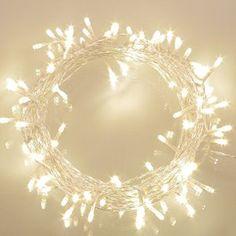 Gledto 5M 50LED Blanc Chaud Fil de Cuivre Lumi¨re Ampoules
