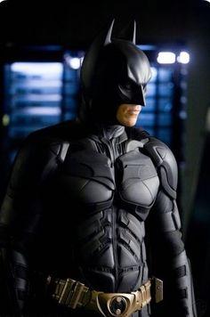 "Christian Bale as Batman in ""The Dark Knight Rises"" Batman And Batgirl, I Am Batman, Batman Dark, Batman Comic Art, Batman Begins, Batman The Dark Knight, Gotham Batman, Batman Robin, Batman Stuff"