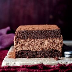 Chocolate Mousse Loaf