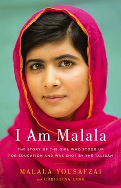 The bestselling memoir by Nobel Peace Prize winner Malala Yousafzai. I Am Malala. This is my story. Malala Yousafzai was only ten years old when the Tali. Malala Yousafzai, Ich Bin Malala, Reading Lists, Book Lists, Reading Club, Beach Reading, Malala Book, Books To Read, My Books
