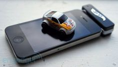 Cool control hot wheels car with your phone