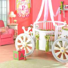 I love this.. I really want a classical Cinderella themed nursery if I had a girl!