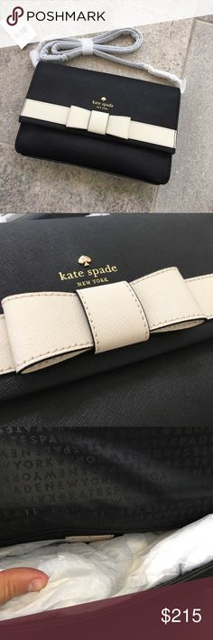 Spotted while shopping on Poshmark: Kate Spade Bow Cross Body! #poshmark #fashion #shopping #style #kate spade #Handbags