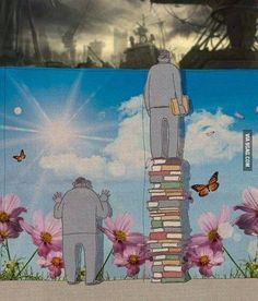 Kitaplarla gerçeği görebiliriz.