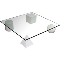 Metaphora 1 Coffee Table by Lella & Massimo Vignelli, marble and glass, 1979 Massimo Vignelli, Coffe Table, Recycled Furniture, Italian Style, Concrete, Interior Decorating, Marble, Glass, Inspiration