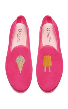 Del Toro Prince Albert Ice Cream Slipper Loafers