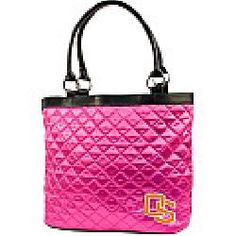 Little Earth Productions Oregon State Beavers Pink Quilted Tote
