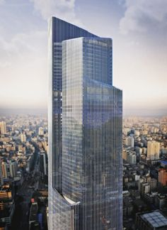 Kohn Pedersen Fox Associates: Projects: Guangzhou CTF Finance Centre