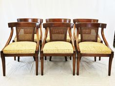 Set of 10 Chairs  Dining Table (3 leaves). Made by White Furniture Co. of Mebane NC.