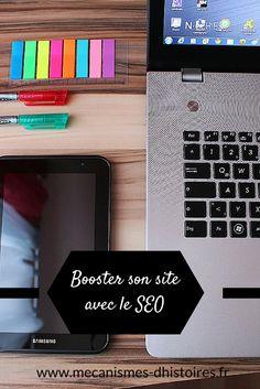 Booster le trafic de son site d'auteur avec le SEO. Travailler sur le référencement naturel de son site sur Google. #blogging #bloggingtips #seo