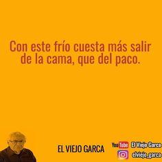 """26.7 mil Me gusta, 66 comentarios - El Viejo Garca (@elviejo_garca) en Instagram: """"Es verdad! Jaja #elviejogarca #lunes"""""""