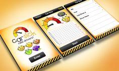 CarSick > Arbisoft  |  Smart phone app UI design