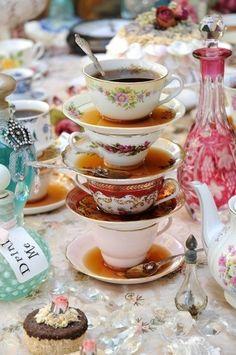 tea stacking