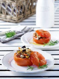 Caprese Salad, Bruschetta, Panna Cotta, Vegetarian, Ethnic Recipes, Food, Cooking Recipes, Cooking, Dulce De Leche